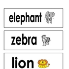 Animal Baby Vocabulary Cards