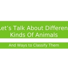 Animal Characteristics and Classification PPT