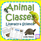 Animal Classes ~ Literacy & Science Cross-Curricular Unit