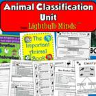 Animal Classification Unit from Lightbulb Minds