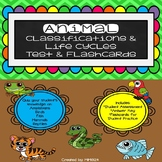 Animal Classifications & Life Cycles Unit Test