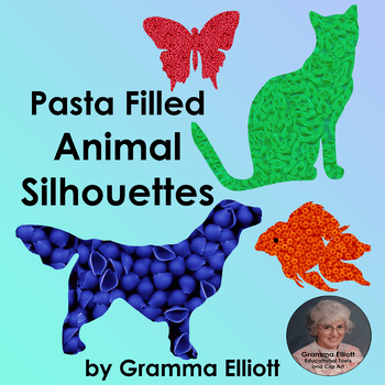 Animal Clip Art - Pasta Collection Freebie by Gramma Elliott