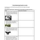 Animal Farm Foreshadowing Graphic Organizer