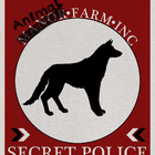Animal Farm High Res 8.5x11 Secret Police Poster