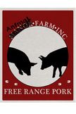 Animal Farm Poster - Free Range Pork
