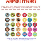 Animal Friends - Beginning and Ending Sounds Clip It