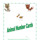 Animal Numbers Set