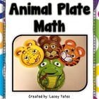 Animal Plate Math-Counting, Part-Part-Whole, Addition, Fac