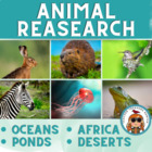 Animal Research Pages for Africa-Oceans-Desert & Arctic BU