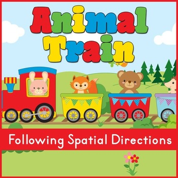 Animal Train: Following Spatial Directions (Speech Therapy)