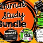 Animal Unit Study {Vertebrate Activities Bundle}