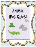 Animal Web Quest