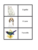 Animali (Animals in Italian) games: Concentration, Slap, O