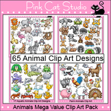 Clip Art Animals Mega Value Pack - Personal & Commercial Use