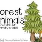 Animals in the Forest {Posters, Sorts, and a Mini Book}