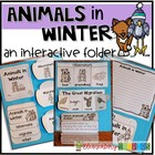 Animals in Winter ~ an interactive folder
