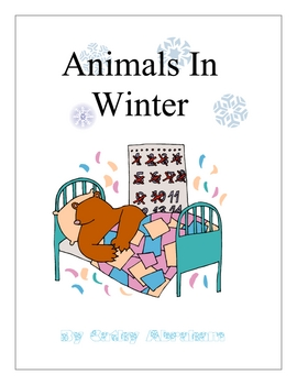 Animals in Winter curriculum unit