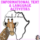 Informational Text for Special Ed_ Autism_Animals of Africa