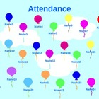 Animated Balloon Attendance