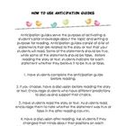 Anticipation Guide Template and How to Guide