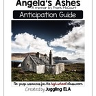 Anticipation Guide for Angela's Ashes by Frank McCourt