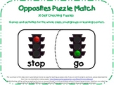 Antonym Puzzle Match-30 Opposite Matches