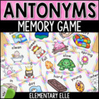Antonyms Game - Memory Match