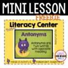 Antonyms for Halloween - FREEBIE