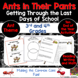 Ants In Their Pants  Getting Through the Last Days of School