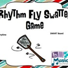 Rhythm Fly Swatter Game- Anytime SMART Board