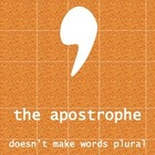 Apostrophe Punctuation Poster
