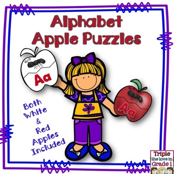 Apple Alphabet Puzzles