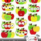 Apple Babies {Clipart for Personal & Commercial Use}