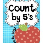 Apple Counting by 5's Cards 5-100 Free Download