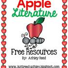 Apple Day Literature Freebies