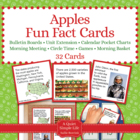Apple Fact Cards - Fun Unit Extension Activity, Bulletin B