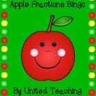 Apple Fractions Bingo Game
