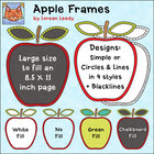 Apple Frames Clip Art {FREEBIE for Personal or Commercial Use}