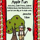 Apple Fun-Books, Chart Pieces and Activities