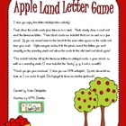 Apple Land Letter Game