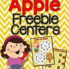 Apple Math Centers (2 Freebie Centers)