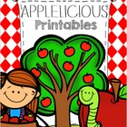 Apple Math and Literacy Printables for Kindergarten