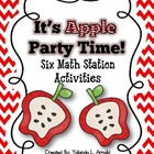 Apple Party Time: Math Stations Kit