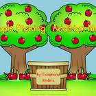 Apple Picking Addition Mats - Decomposing Numbers
