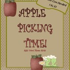 Apple Picking Sight Word Sticks