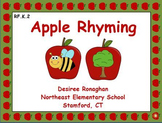 Apple Rhyming: An Activer Board Center (RF.K.2)