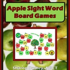 Apple Sight Word Board Game - Student Version