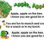 Apple Theme for Smartboard- Kindergarten