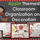 Apple Themed Classroom Organization