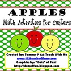 Apple Themed Math Activities